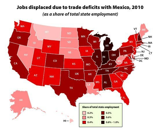 nafta and the canadian economy The outcome could reshape the entire us economy, which has grown  increasingly dependent on trade with mexico and canada since nafta.