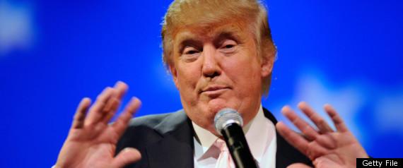 Donald Trump Not Running For President 2012