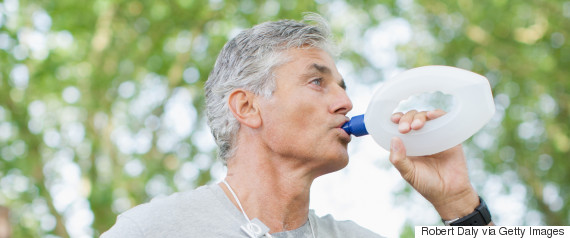 mature drinking water