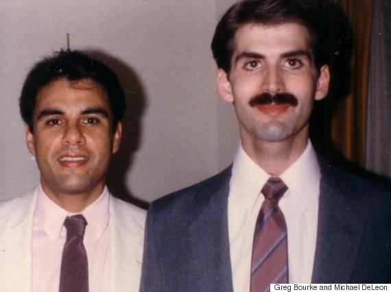 Michael DeLeon and Greg Bourke, 1986.