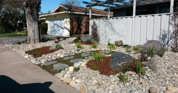 landscapers helping drought-stricken
