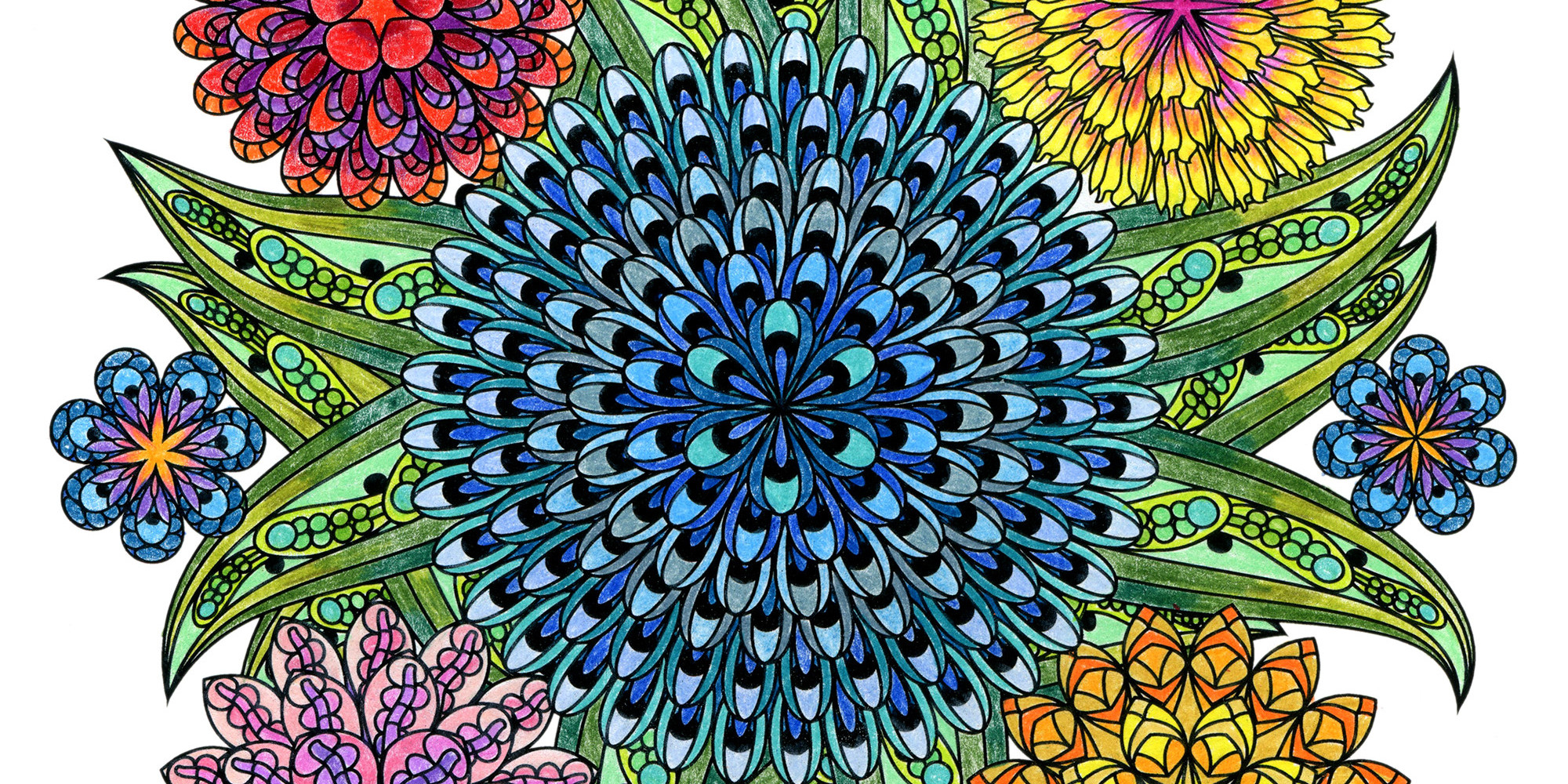 This Mandala Coloring Book For Grown Ups Is The Creative S
