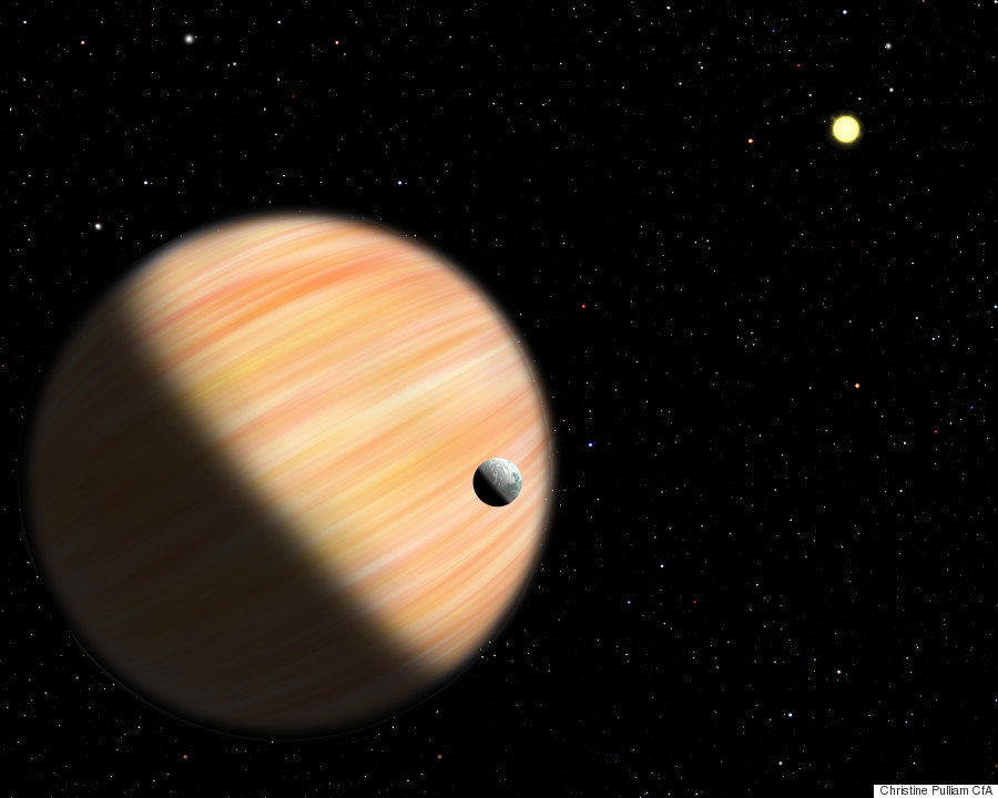 Giant Exoplanet Discovered 13 000 Light Years Away Is