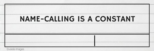 namecalling
