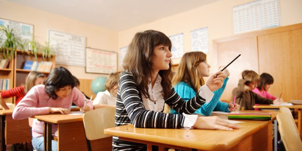 Classroom Students Learning
