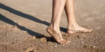 Walking Barefoot Is Healthy