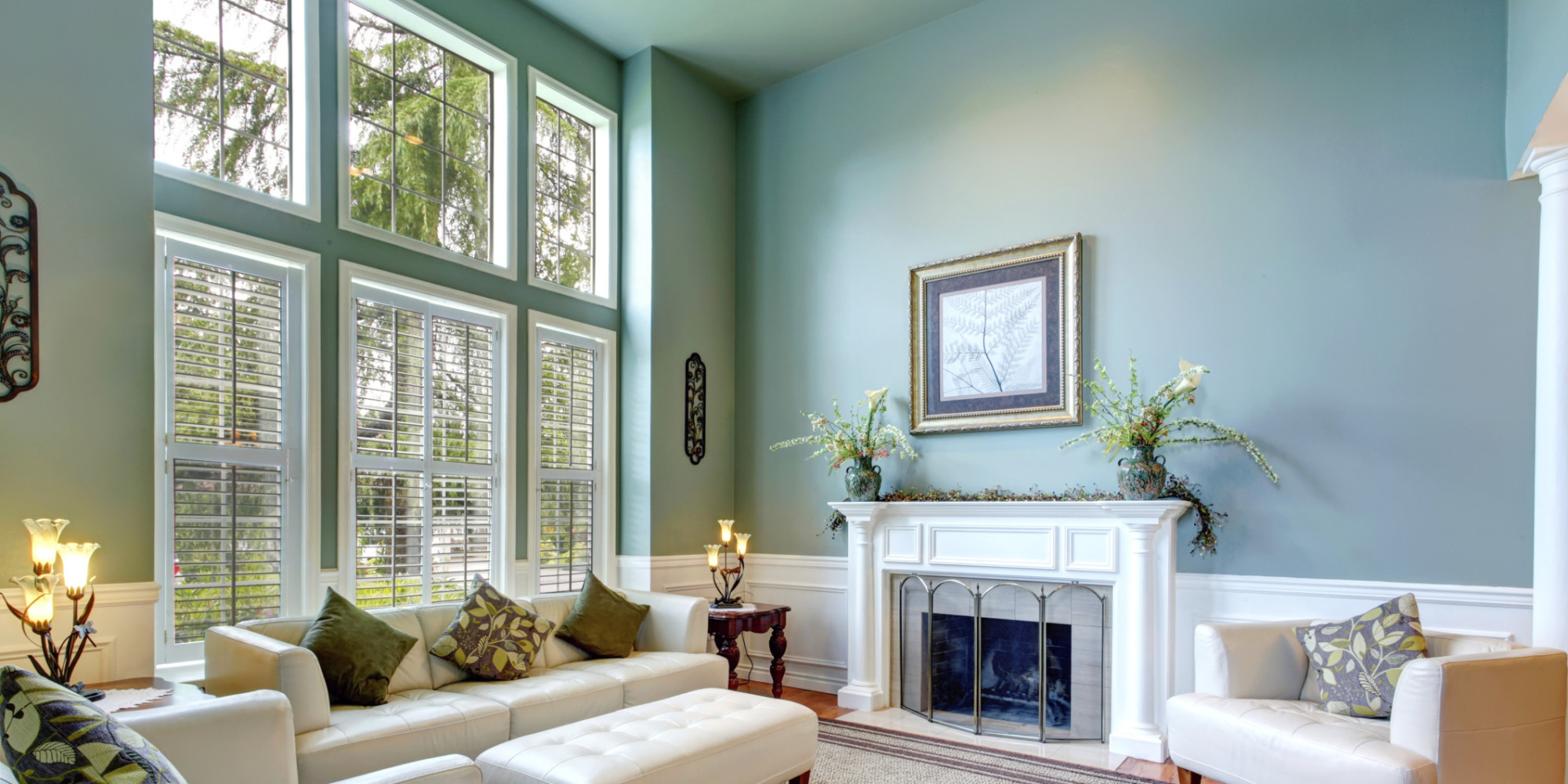 decorate small living room white with turquoise accents the most overlooked aspect of decorating a ...