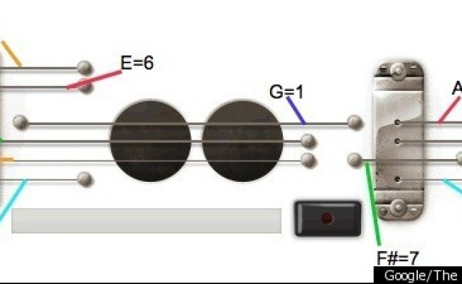 How To Play Guitar On The Les Paul Google Doodle Lessons