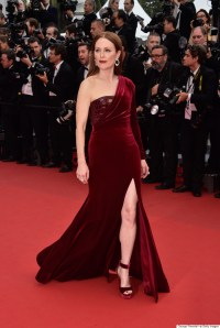 Julianne Moore Channels The Red Queen At Cannes 2015