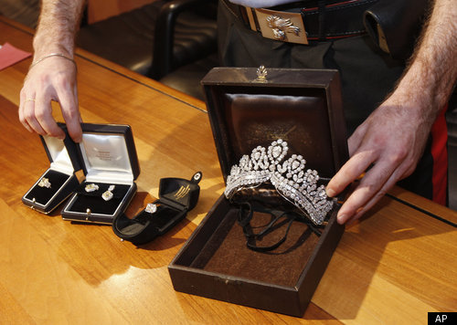 Eva Perons Jewelry Recovered In Italy PHOTOS  HuffPost