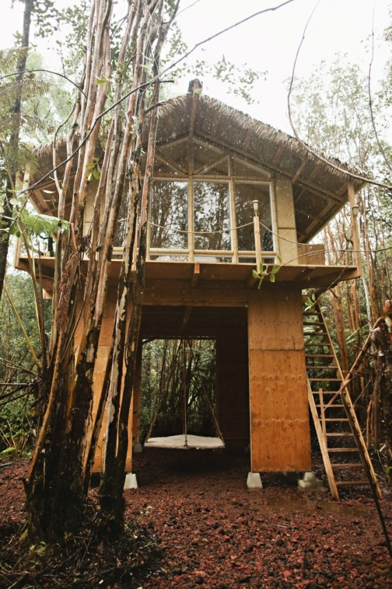 This Tiny Hawaiian Treehouse Is All Your Dreams Come True