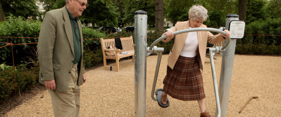 ELDERLY PLAYGROUND