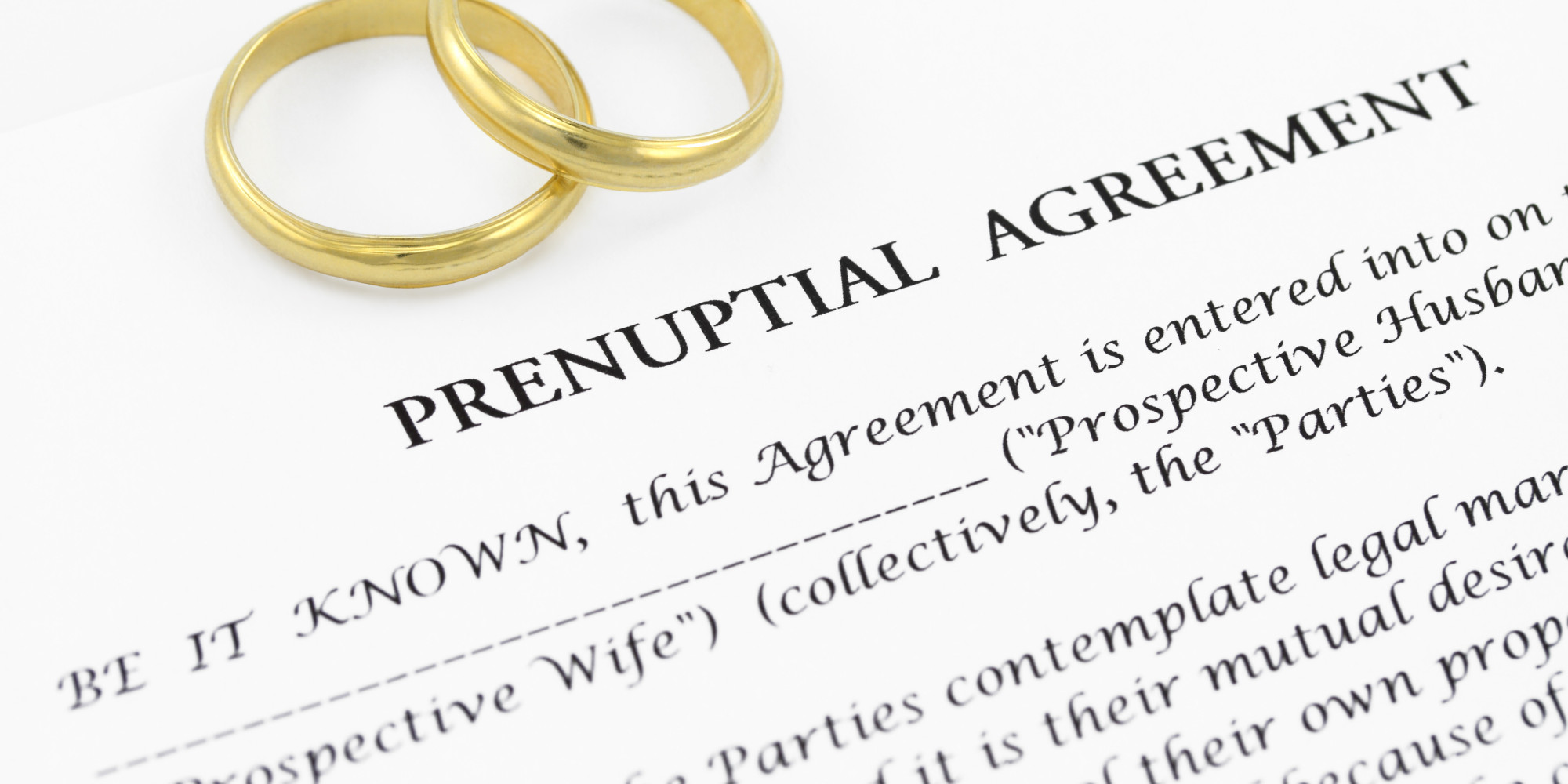 Do Prenups Help Or Hurt Marriages Jack Fishers Official