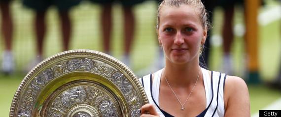 Petra Kvitova Wimbledon Champion