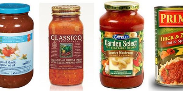 Sodium In Pasta Sauce Ranked