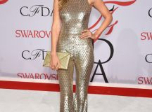 Gigi Hadid's CFDA Awards Jumpsuit Is Gilded Perfection By ...