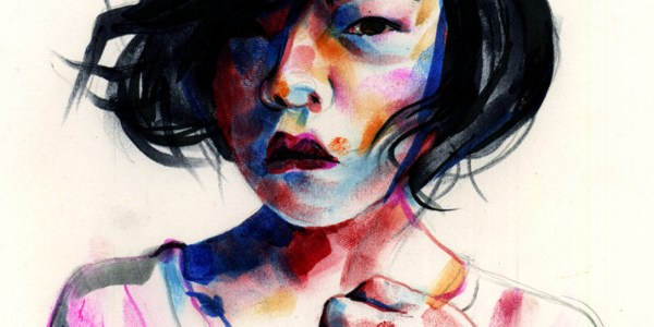 Seattle Artist Tom Deslongchamp Turns Markers And Ink Vibrant Portraits Huffpost