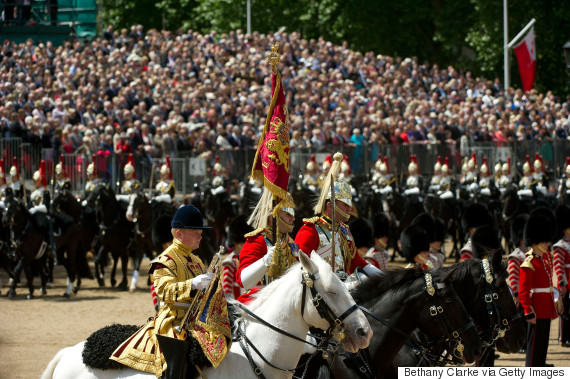trooping the colour horses