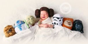 Image result for baby star wars nerd