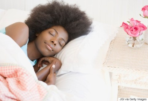 Image result for black woman sleeping peacefully