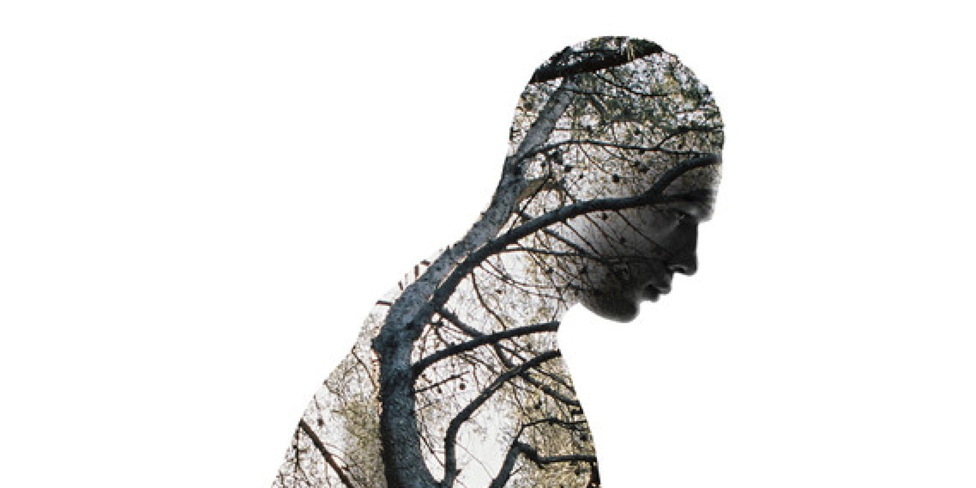 Fine Art Double Exposure Photography Human Nature