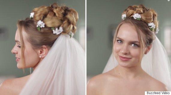 wedding hairstyles 50 years