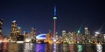 Soaking Toronto Skyline Evening Cruise