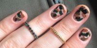 Camo Nail Art Designs: Get The Autumn/Winter 15 Look With ...