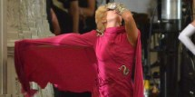 Lady Gaga Films 'american Horror Story Hotel' In Gorgeous