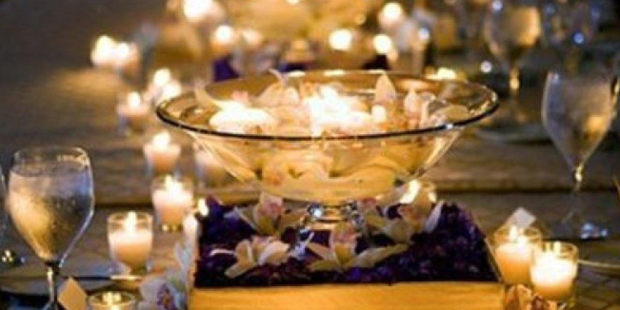 50 Wedding Centerpiece Ideas That Don't Involve Flowers