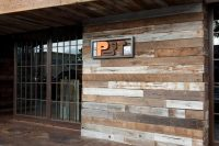 Architectural Inspiration: Rustic Wood Walls