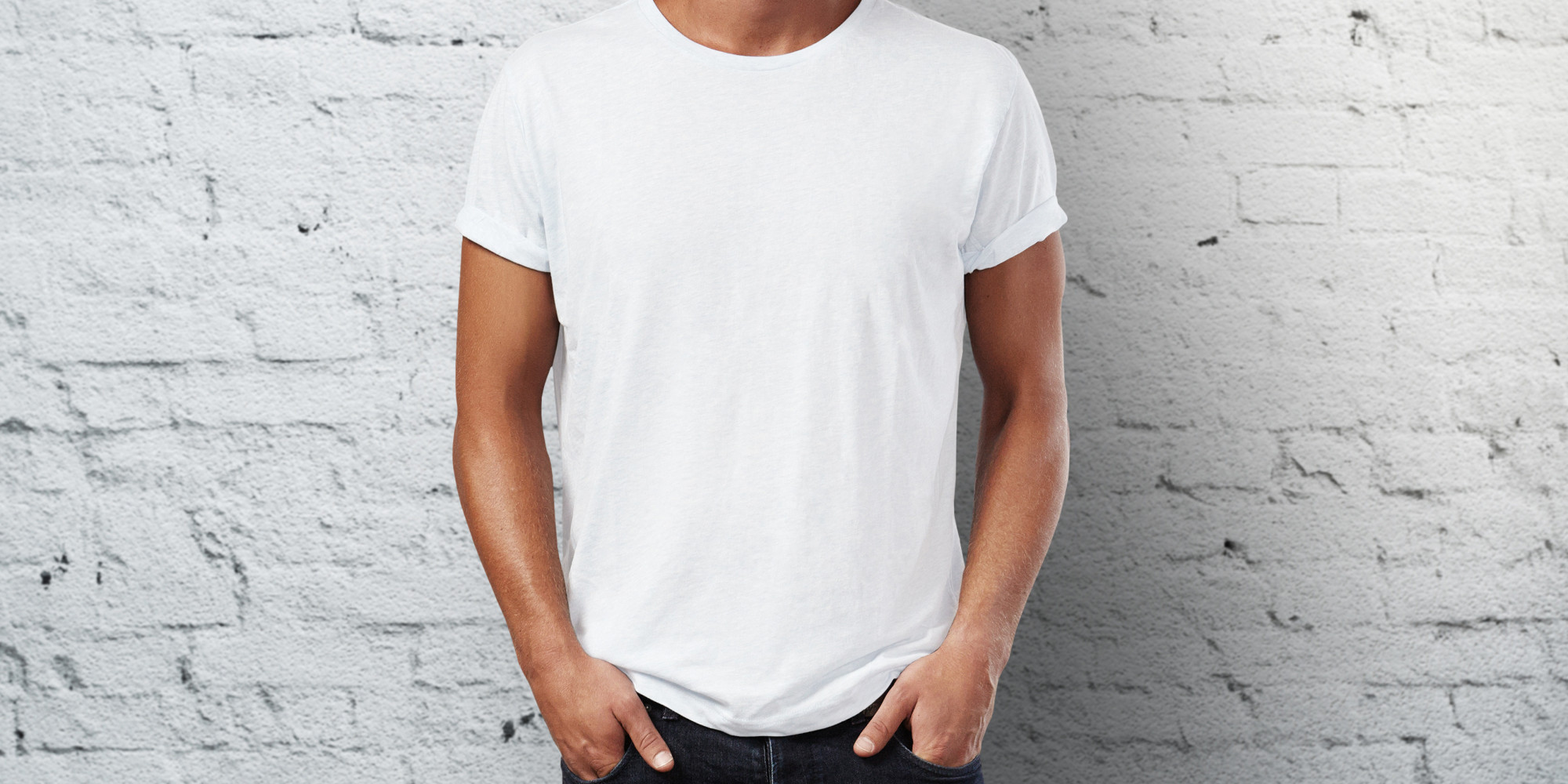 How To Get Rid Of Sweat Stains On White TShirts  HuffPost UK