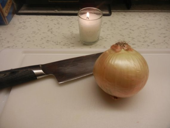onion candle