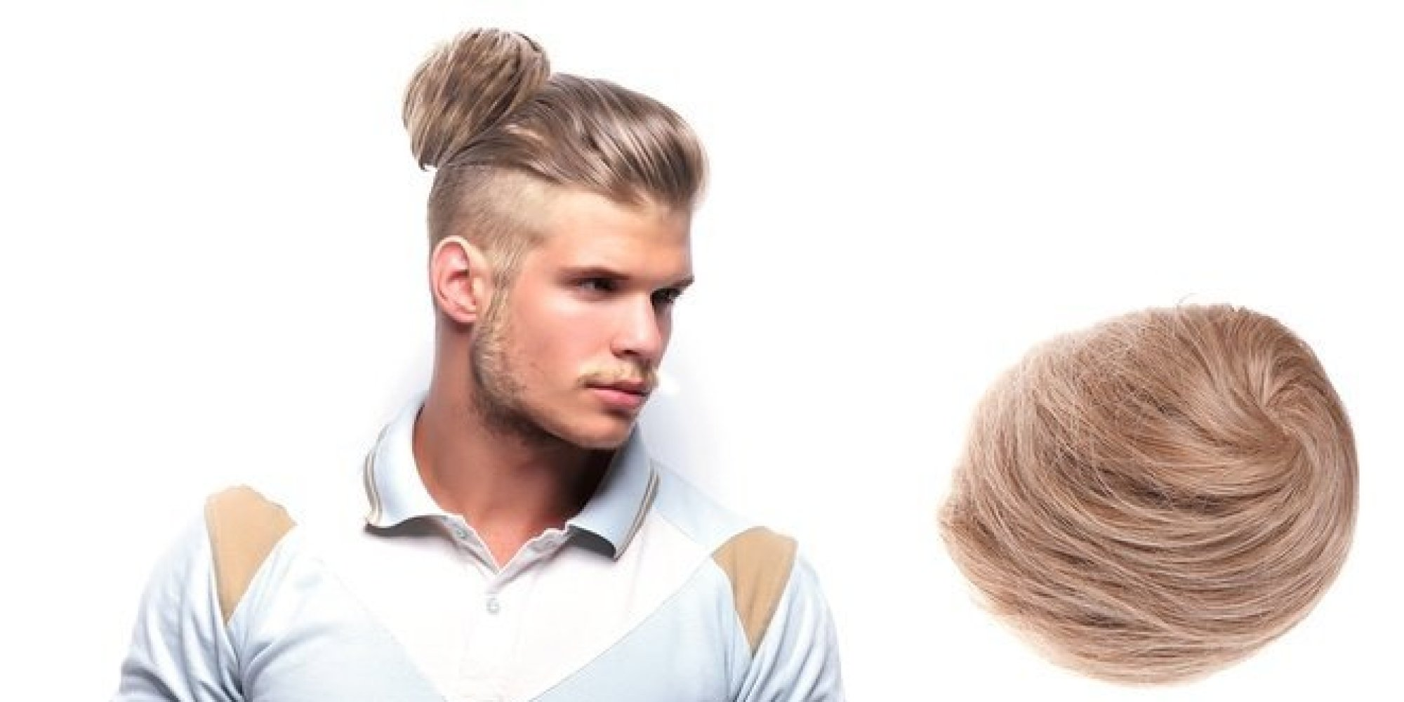 Clip On Man Buns Are The Solution For Men Who Fear Their