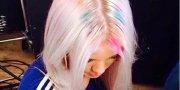rainbow roots hair