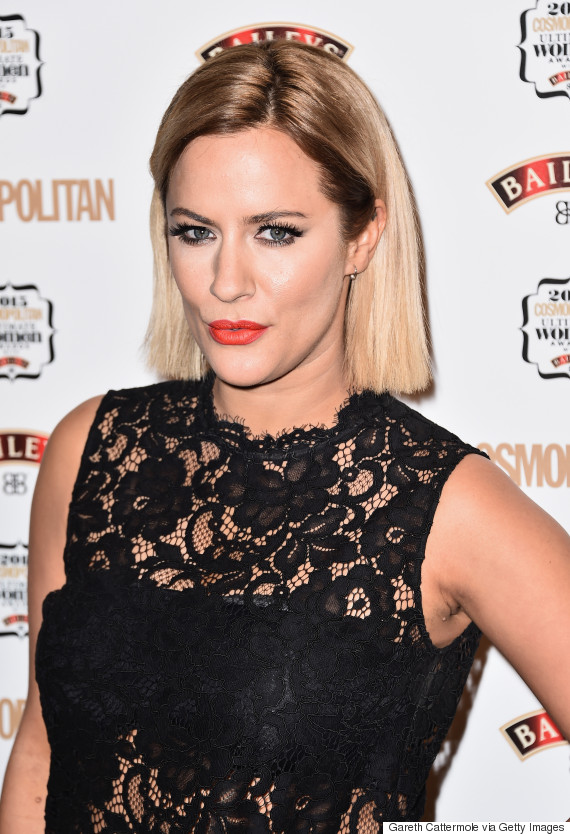 Caroline Flack Split From Manager Of 11 Years Just