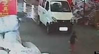 Girl In China Run Over
