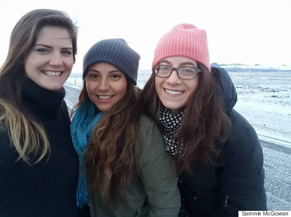 mw with friends in iceland