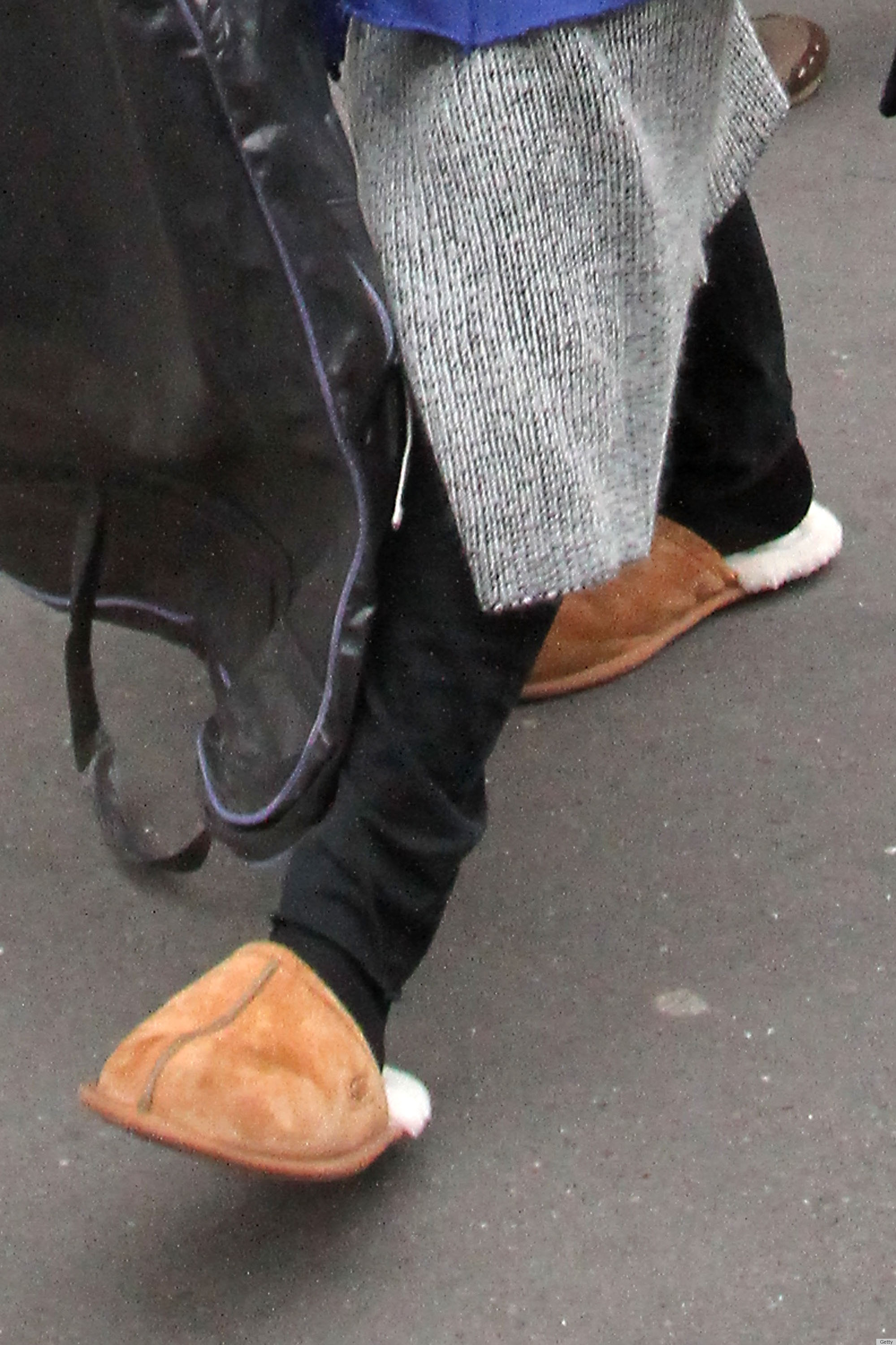 Jared Leto Wears Slippers In Paris PHOTOS POLL  HuffPost