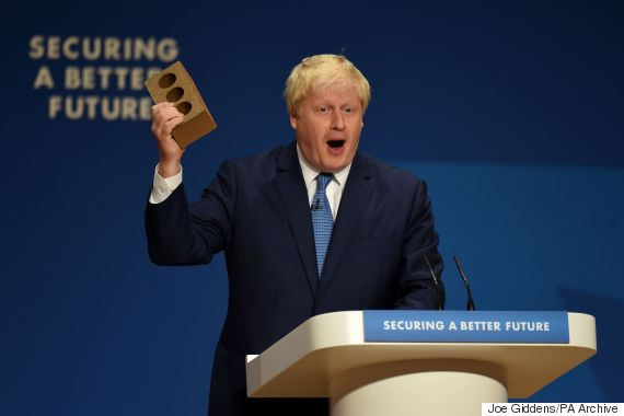 Image result for boris johnson brick