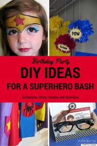 Superhero Birthday Party: DIY Ideas For A Marvel