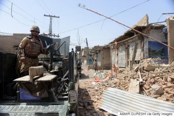 pakistan military tribal area