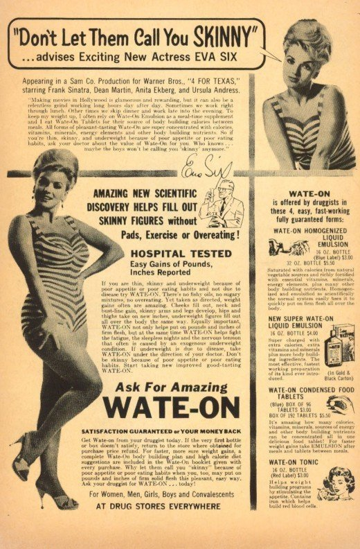 Weight Loss Adverts : weight, adverts, Vintage, Weight, Discourage, Skinny, Bodies, (PHOTOS), HuffPost