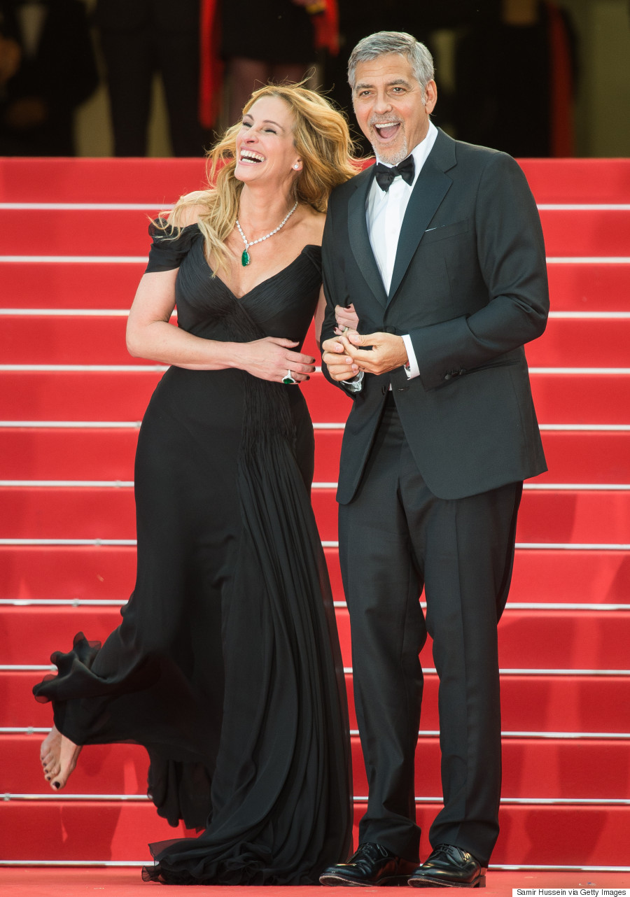 George Clooney Julia Roberts Barefoot