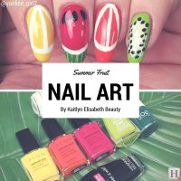 Nail Art: This Fun Fruity Design Is Perfect For Summer