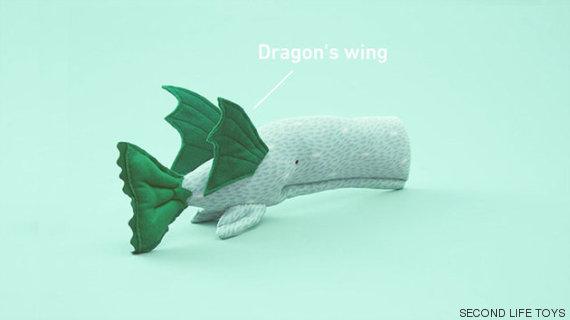 asas de dragão