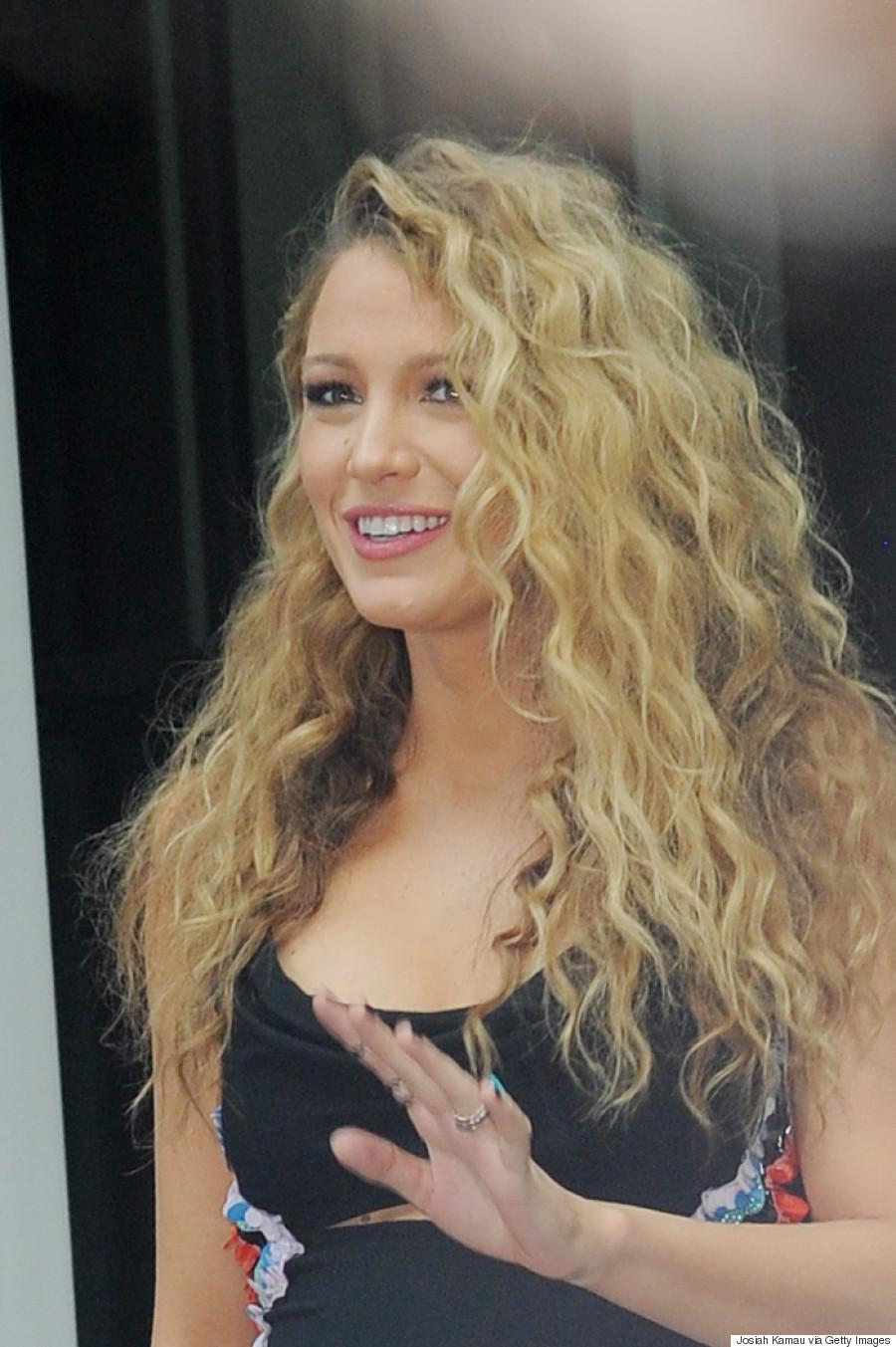 blake lively's big curls