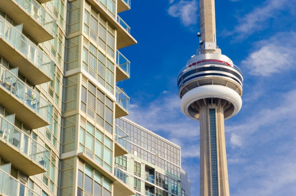 Cn Tower Torn Of High Land