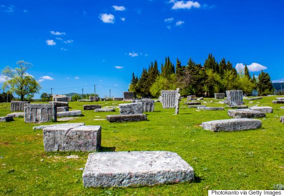 medieval tombstones