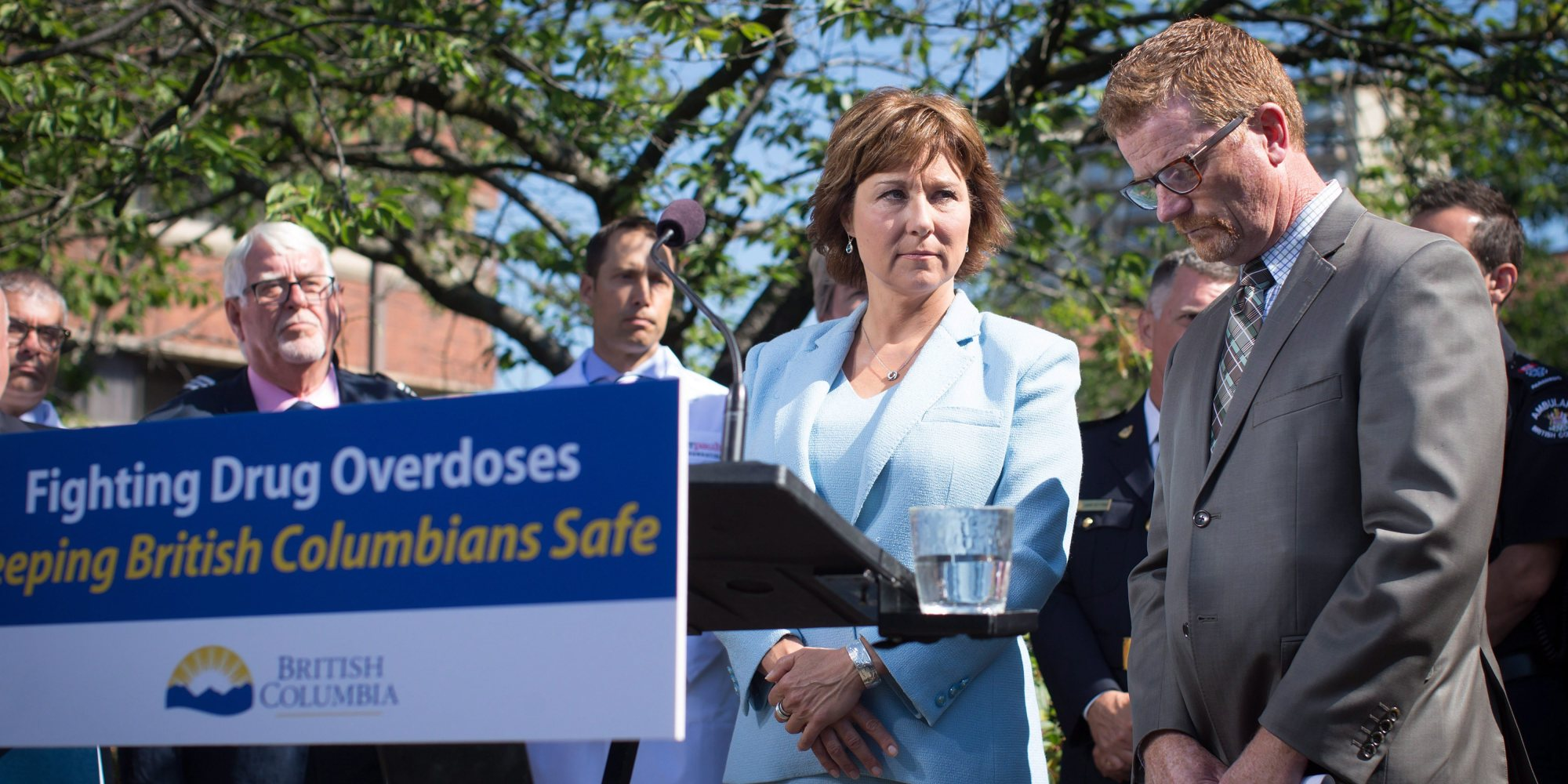 Image result for Christy Clark vs drugs
